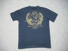 35 男 ラルフローレン 紺 半袖Tシャツ M