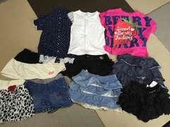 120130140 スカート パンツ 短パン スカパン Tシャツ 10点セット