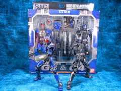 未開封 SIC 仮面ライダーG3&仮面ライダーG4 箱に破れあり