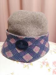 Vivienne Westwood(ヴィヴィアン・ウエストウッド)★帽子★毛100%★難アリ