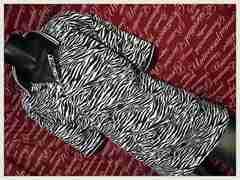 ゼブラ柄ポロシャツ 新品X2(4Lー5L)/MCM-505