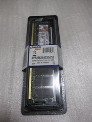 [新品]Kingston PC2100 256MBメモリ