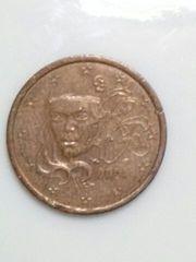 フランス 5ユーロ・セント硬貨 2004年 流通品