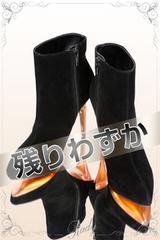 Rady スエードベーシックショートブーツ ブラック Sサイズ