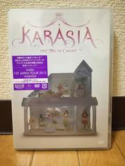 KARA 1st JAPAN TOUR 2012 KARASIA DVD 新品未開封