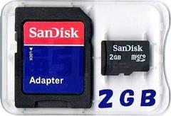 サンディスク 2GB microSDカード(マイクロSDカード2ギガ) 普通郵便送料無料
