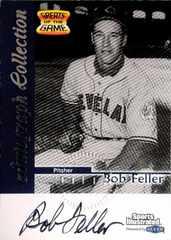 FLEER99 故)BOB.FELLER・Greats of the Game.Auto直筆サインカード