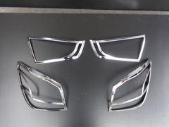 三菱 RVR GA3W/GA4W クロームメッキテールライトリング テールランプリム