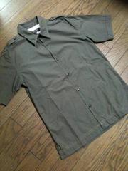 美品UNITED ARROWS ミリタリーシャツ 日本製 アローズ