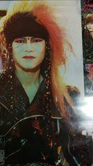 X JAPAN hide ポスター ヒデ Jealousy 1991