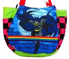 まちたっぷり★バットマン★マザ−ズバッグ サイドポケット付き