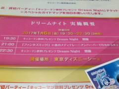 東京ディズニーシー 貸切パーティー ドリームナイトチケット ペア 1/6(金)19:30〜