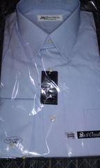 メンズBell Condor 日本製Yシャツブルーえり回り38スーツに