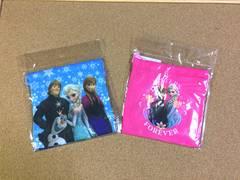 新品♪即決 アナと雪の女王 巾着袋2枚セット