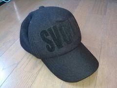 ★SVOLME製*オールブラックキャップ/帽子スボルメ
