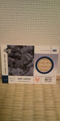 2001 GARY CARTER バット カード