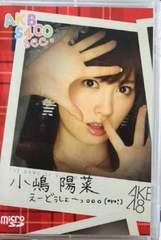 AKB48 AKB5400sec. �����z�� �v���C�x�[�g �f�� microSD�J�[�h
