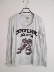 ����/Converse/���S�v�����g�����j�b�g�J�b�g�\�[/�O���[/M