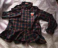 JENNI チェックシャツ  used   140センチ