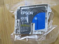 インジェクトプリンターインク EPSON ICC23(シアン) 新品!�@