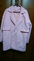 【大きいサイズ】とっても素敵なジャケット☆淡いピンク☆美品