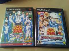 PS2☆テニスの王子様のゲーム3本☆まとめ売り♪状態良い♪