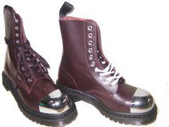ドクターマーチン新品10ホールブーツ安全靴16152601スチール
