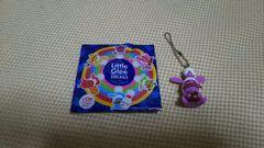 新品:リトルグリーモンスター×ラウンド1:ミニチャーム(紫)