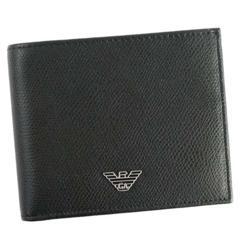 ★エンポリオアルマーニ 2つ折財布 YAQ2E(BK)『YEM122』★新品本物★