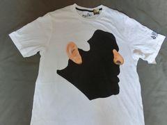 USA購入 Organic Cotton100%【Volcom】FaceプリントTシャツ US L