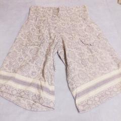 アミナコレクション*パープル柄キュロットスカート*新品未使用