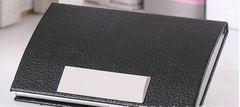 B94 名刺入れ 黒 磁石 ハードケース ビジネス 小さい 送料無料