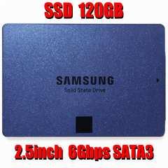 中古良品 即決 SSD 120GB 2.5inch 7mm 6Gbps SATA3 サムソン製