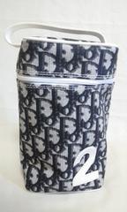 美品〓 Diorディオール トロッター ポーチ ブラック PVC