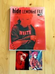 【難有・オマケ付】hide with Spread Beaver LEMONed FILE