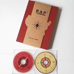 レア【廃盤】B.A.Pアメリカ横断ドキュメンタリーDVD2枚組付き写真集 デヒョン