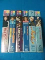 ��ˉ̌� �r�f�I6�{�Z�b�g �p�������� VHS