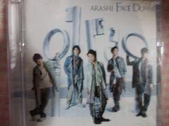 新品同様人気ARASHI FACEDOWN初回限定盤DVD付き