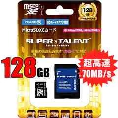 ����140�~�`�����i microSDXC 128GB ϲ��SDXC UHS-I ���߰����