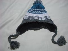 mb349 男 BILLABONG ビラボン ボンボン 耳当て付き ニット帽