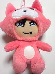 GACKT★ガクト★がくっち着ぐるみマスコット【ピンク】