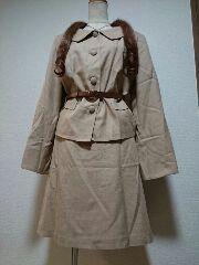★新品タグ23号★private label★ベルト付きスーツ¥9800