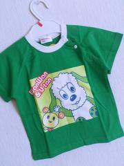 新品!!わんわん&うーたんTシャツ90いないいないばぁっ!