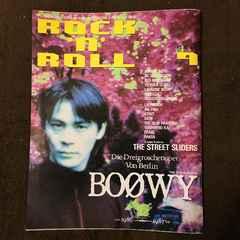 1987 BOOWY �X������ �\�� ROCK'N'ROLL ���� �p�[�\�i���W�[�U�X