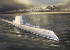 1/700 アメリカ海軍 ミサイル駆逐艦 DDG-1000 ズムウォルト