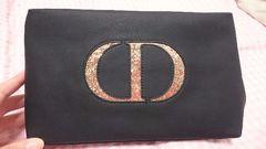 Dior★非売品ポーチ★ゴールドロゴ★新品