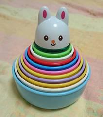 150円☆トイローヤル☆コップ重ねおもちゃ