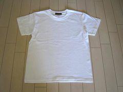 【新品】無地Tシャツ★白XS★MUJI男女兼用150cm