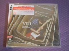 YUI「I LOVED YESTERDAY」初回限定盤DVD付 新品未開封