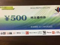 ■ヴィア優待■やきとりの扇屋/パステル/紅とん■5000円分